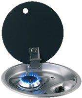 CAN FC1345 gas Kookplaat met 1 Brander en Glasplaat inbouw