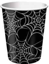 Bekertjes spinnenweb (266ml, 8st)