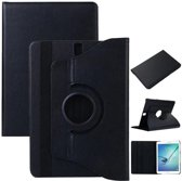 Pearlycase Hoes 360° Draaibare Case Beschermhoes Zwart voor Samsung Galaxy Tab S5e 10.5 T720 / T725