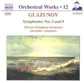 Glazunov: Sym.Nos. 3 & 9