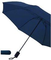Bellatio Opvouwbare Paraplu - Ø 85 cm - Blauw