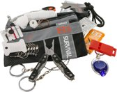 Gerber Survival kit Bear Grylls Ultimate Kit 15-delig - zwart/grijs