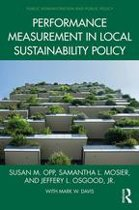 Performance Measurement in Local Sustainability Policy