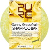 Handmade shampoo bar - Sunny grapefruit