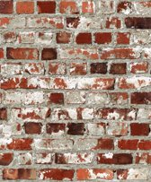Dutch Wallcoverings Dutch Wallcoverings vinylbehang baksteen
