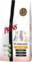 Prins Fit Selection Kip & Rijst - Hondenvoer - 4 kg