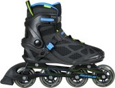 Powerslide Lancer Inline Inlineskates - Maat 42 - Mannen - zwart/blauw/groen