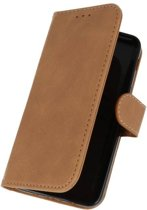 Samsung Galaxy J3 2018 Bruin | bookstyle / book case/ wallet case Wallet Case Hoesje  | WN™