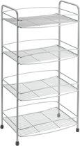Metaltex - Onda Polytherm Opbergrek - 4 etages - 37x26x79 cm