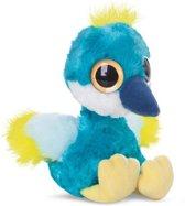 Aurora Knuffel Yoohoo Crownee Kraanvogel Blauw 20 Cm