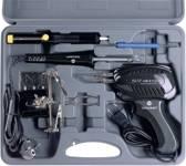 TOOLCRAFT SK 3000 Soldeerboutset 230 V 100 W Vernikkelde soldeerpunt Incl. soldeerpistool, Incl. uitrusting, Incl. derd