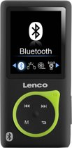 Lenco Xemio-767 BT - MP3/MP4-speler - 8GB - Zwart/groen