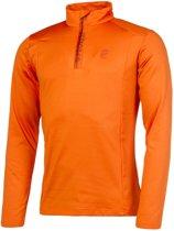 Protest Fleece Top Heren WILLOW Orange PepperXS