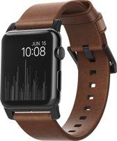 NOMAD® Leren bandje - Apple Watch Series 1/2/3 (42mm) - Bruin