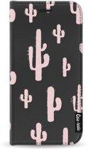 Casetastic Smartphone Hoesje Wallet Case Black Apple iPhone 11 Pro - American Cactus Pink