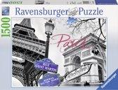 Ravensburger puzzel Paris mon amour 1500 stukjes