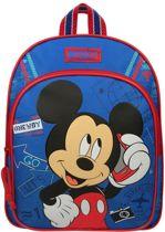 Disney Mickey Mouse Rugzak Let's Go 31 X 25 X 9 Cm Blauw