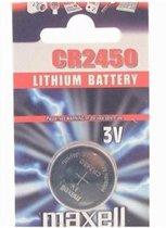 Maxell CR2450 Lithium 3V niet-oplaadbare batterij