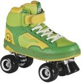 Powerslide Rolschaatsen Quad Player Groen/geel Maat 40