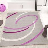Vloerkleed - 2500 gr per m² - Infinity - Grijs - 6296 - 120x170 cm - 13 mm