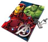 Avengers Dag-/ notitieboek met slotje