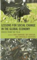 Lessons for Social Change in the Global Economy
