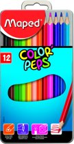 Color'peps kleurpotlood - metalen doos x 12