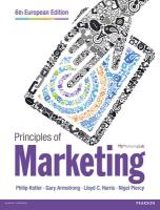 Principles of Marketing European Edition