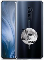 Oppo Reno 10X Zoom Hoesje Fly me to the Moon