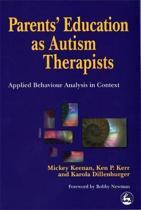 Parents' Education as Autism Therapists