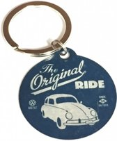 VW Beetle the original ride sleutelhanger, Metaal