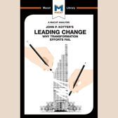 Boek cover The Macat Analysis of John P. Kotters Leading Changes van Yaamina Salman
