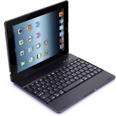 iPad 2/3/4 Toetsenbord Hoesje - CaseBoutique Bluetooth Keyboard Case - Zwart - QWERTY Indeling
