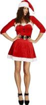 Kort kerst jurkje met bolero 40-42 (m)