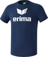 Erima Basics Promo T-Shirt - Shirts  - blauw donker - 2XL
