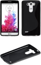 Comutter silicone hoesje LG G3 zwart
