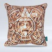 Intimo Mayan Calender - Sierkussen - 45x45 - Goud