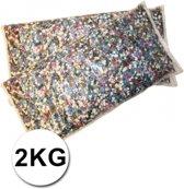 Luxe confetti 2 kilo multicolor