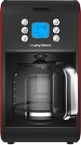 Morphy Richards Accents 162009EE - Koffiezetapparaat - Rood
