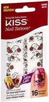Kiss- Nail Tattoo waterdecals  NST01