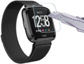Fitbit Versa Screenprotector Tempered Glass / Getemperd Glas / 9H Hardheid / Transparant