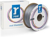 REAL Filament PLA zilver 1.75mm (1kg)