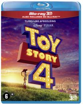 Toy Story 4 (3D Blu-ray) (Import zonder NL)