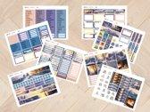 planner Stickers algemeen  WINTER 2011  voor Mascha Planner