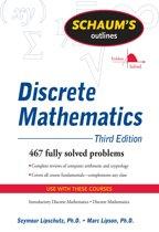 Boekomslag van 'Schaum's Outline of Discrete Mathematics, Revised Third Edition'