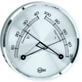 Barigo 8865 comfortmeter chroom (thermo-, hygrometer)