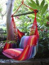 Hangstoel XL Rainbow met kussens