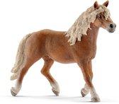 Schleich Haflinger hengst 13813 - Paard Speelfiguur - Horse Club - 14,3 x 4,1 x 10,3 cm