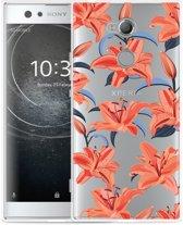 Sony Xperia XA2 Ultra Hoesje Flowers