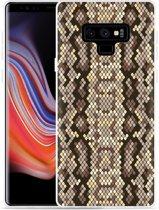 Galaxy Note 9 Hoesje Snakeskin Pattern